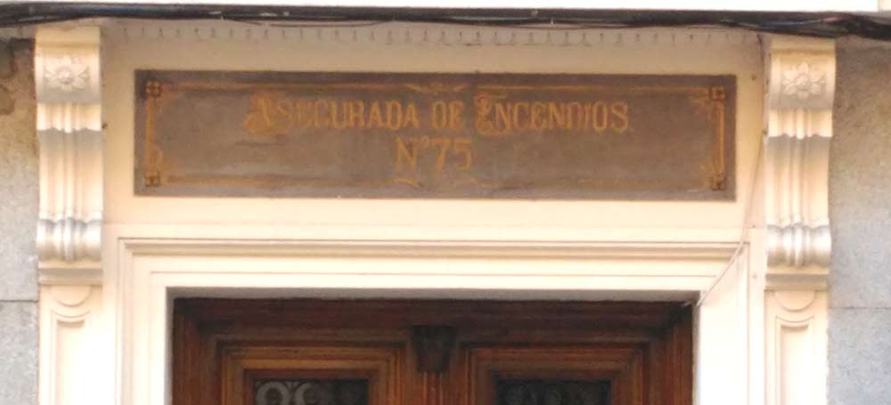 Andando por los rótulos de Madrid (I)