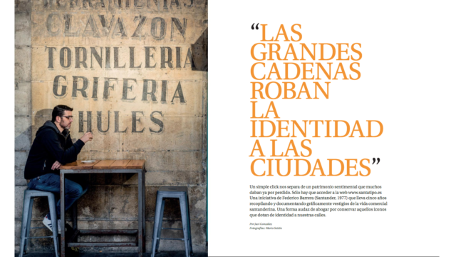 """[Reportaje] """"Las grandes cadenas roban la identidad a las ciudades"""" (UCA, 28.04.2019)"""