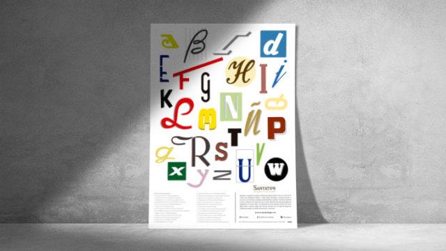 Poster Abecedario Ed. Crowdfunding