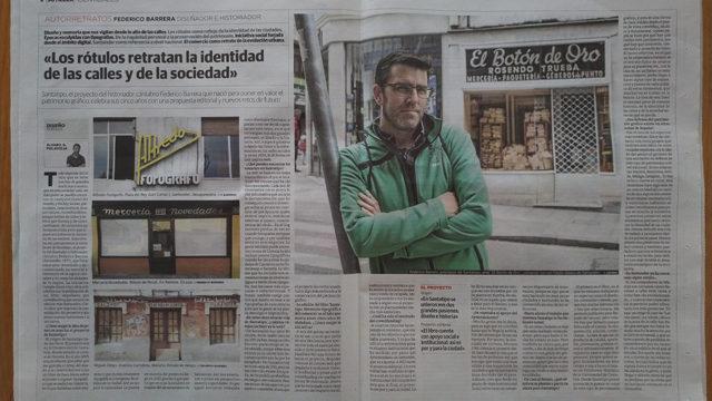 """Reportaje: """"Los rótulos retratan la identidad de las calles de Santander"""""""