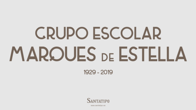 Grupo Escolar Marques de Estella (1929)