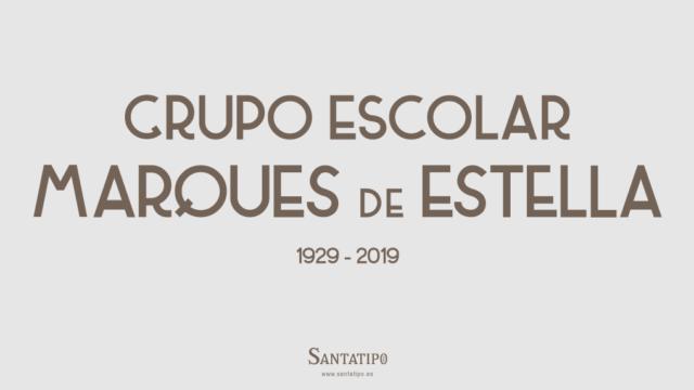 Grupo Escolar Marques de Estella (1929)