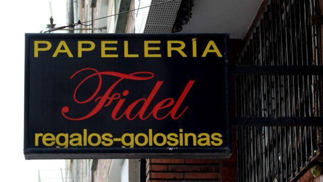 Kiosko Fidel, en pie desde 1960
