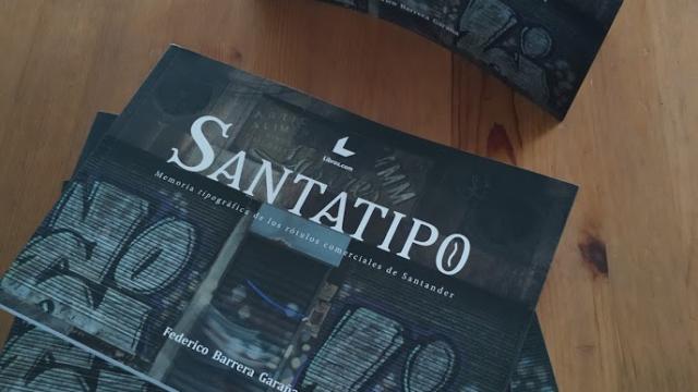 """Presentación y venta del libro de """"Santatipo"""""""
