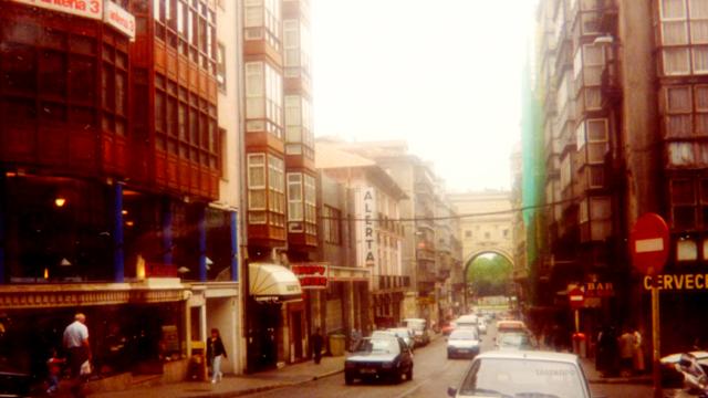 Calle Martillo a comienzos de los 90s