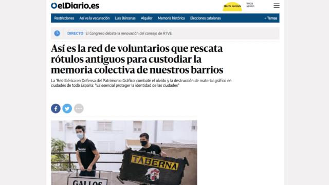 Reportaje en el Diario.es